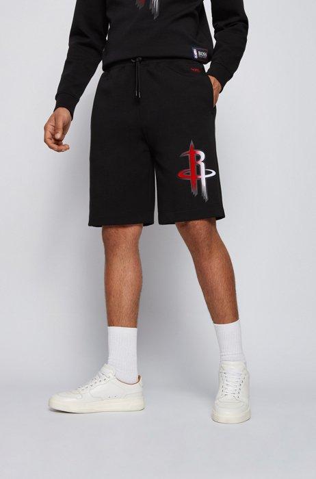 Short à cordon de serrage BOSS x NBA avec logo d'équipe, Noir