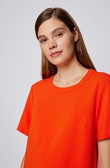日本绉纱面料宽松连衣裙,  821_Bright Orange