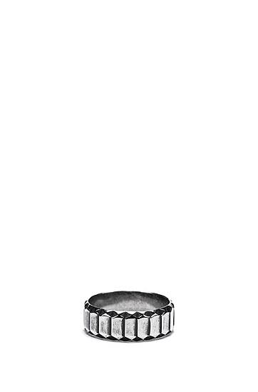 蛇纹元素徽标装饰戒指,  041_Silver