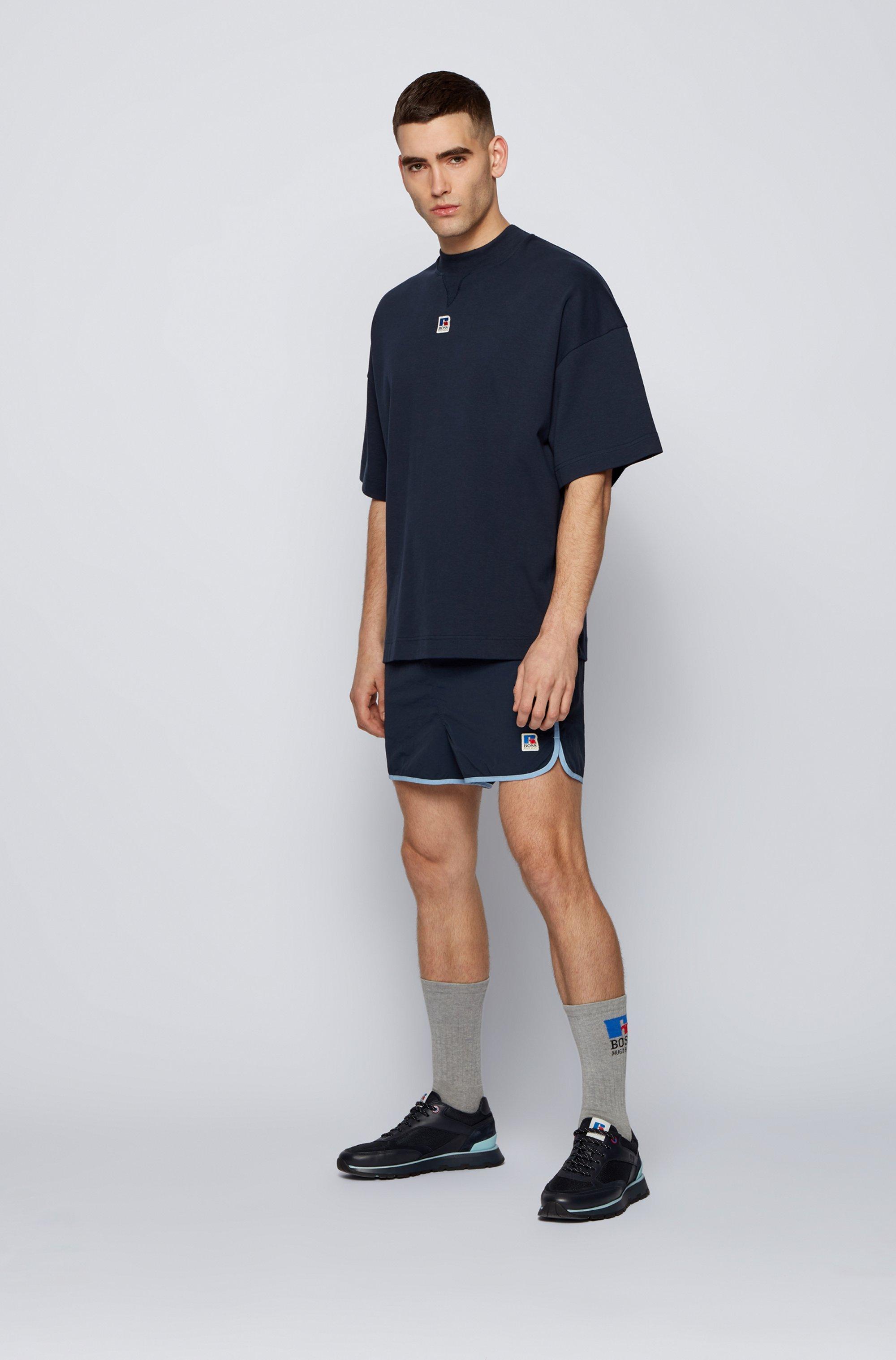 T-Shirt aus Bio-Baumwolle mit exklusivem Logo
