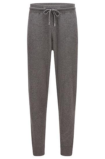棉加初剪羊毛常规版型运动裤,  030_Medium Grey