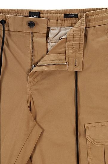 男士休闲抽绳长裤,  261_中米色