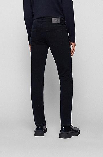 灰蓝色修身牛仔裤,  400_Blue