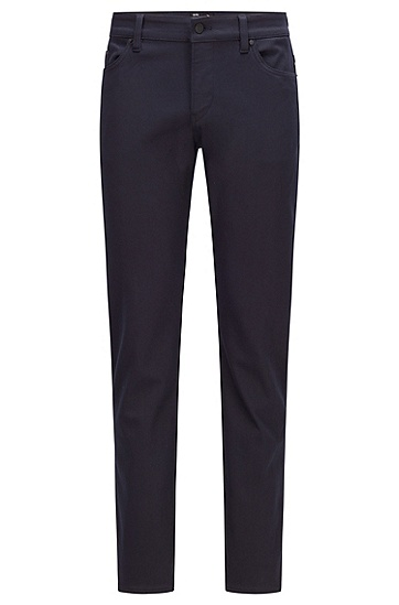 TENCEL™ Lyocell 和 REPREVE® 面料蓝色修身牛仔裤,  410_Navy
