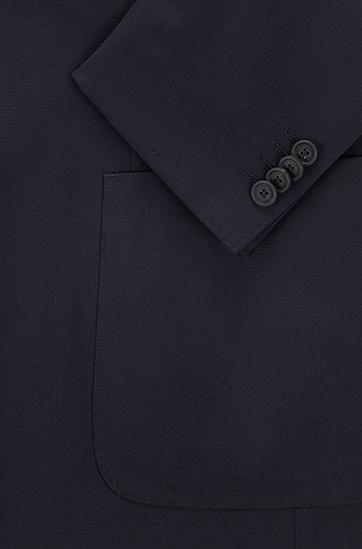 高性能弹力面料修身西装,  404_Dark Blue