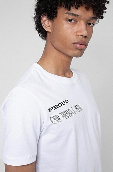 系列主题艺术T 恤,  100_White