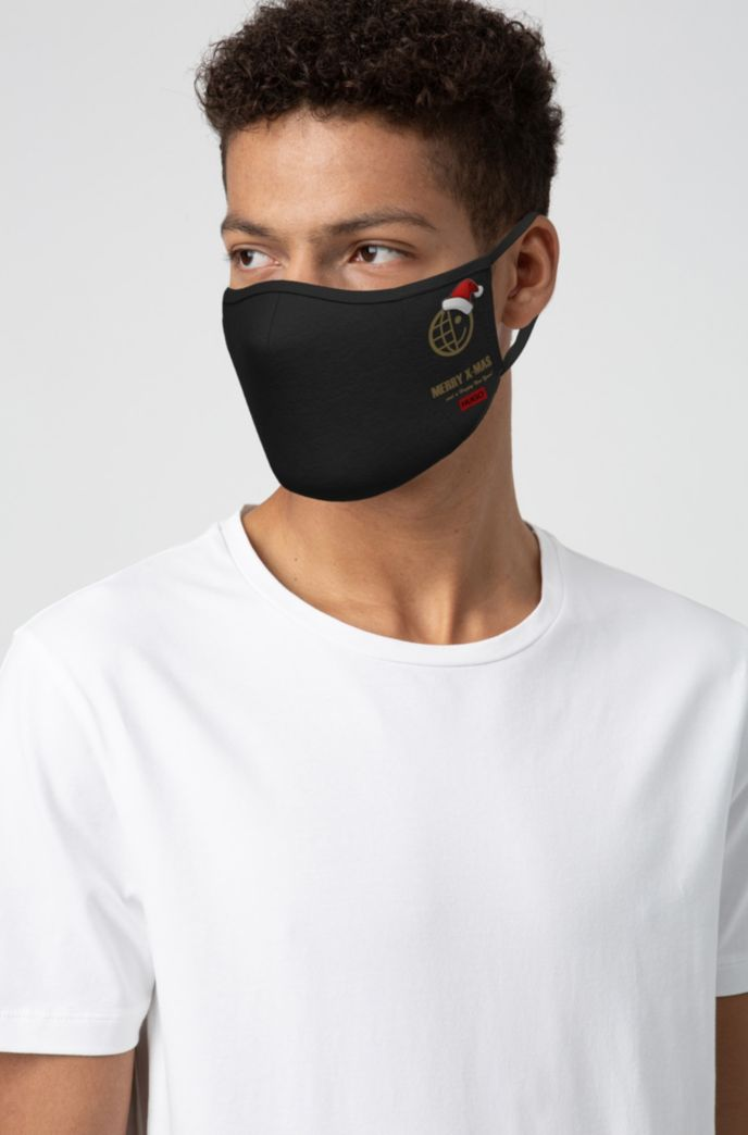 Festive face mask in Recot2® cotton