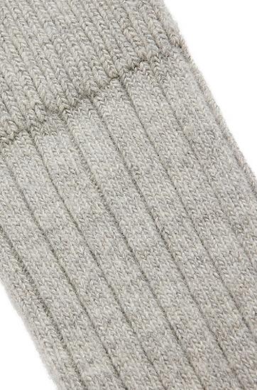 柔软罗纹靴袜,  031_Medium Grey