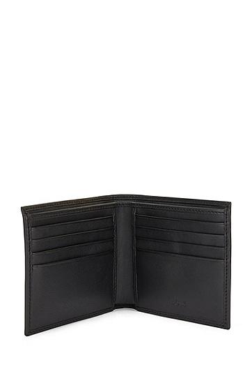 纳帕革钱包加卡包礼物套装,  001_Black