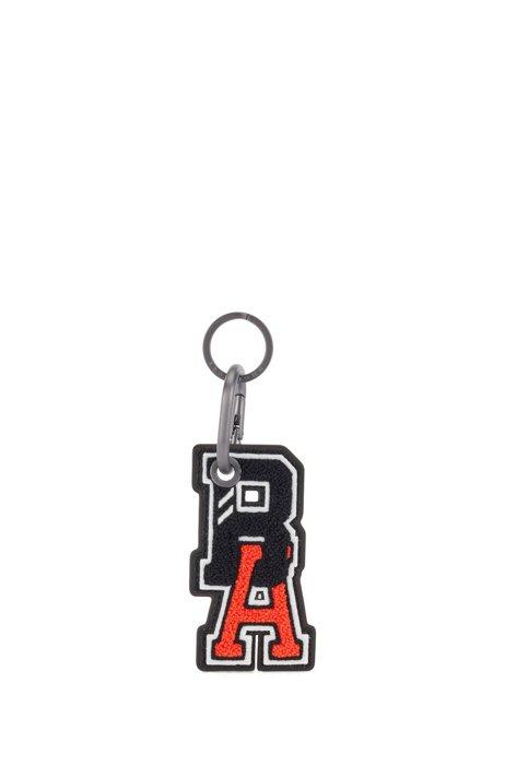 Porte-clés avec logo exclusif, Noir