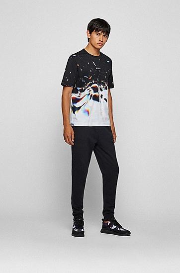 数码风艺术图案装饰棉质徽标图案 T 恤,  960_Open Miscellaneous