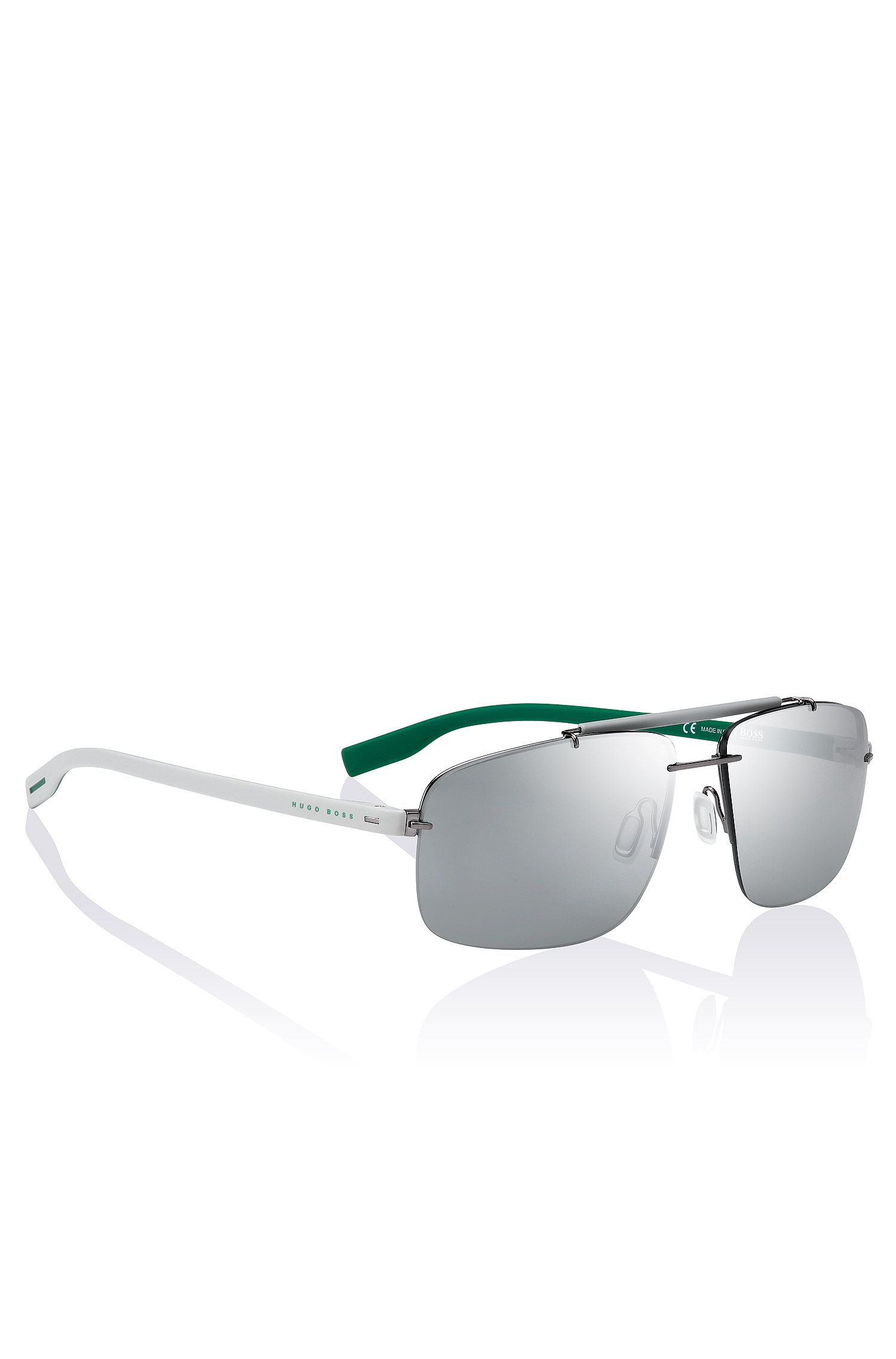 Sonnenbrille im Two-Tone-Dessin: ´BOSS 0608`