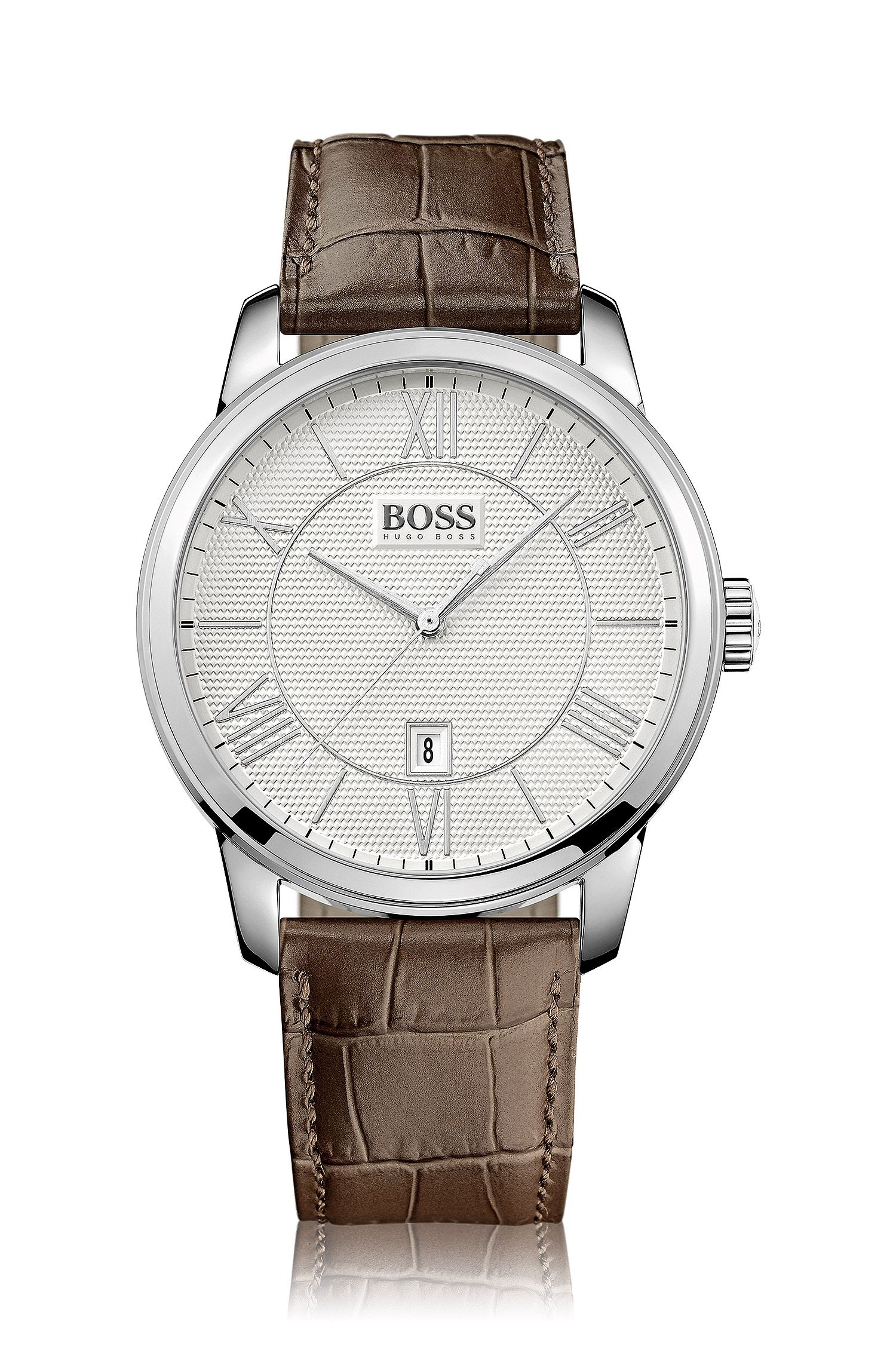 Armbanduhr ´HB6024` mit Edelstahlgehäuse