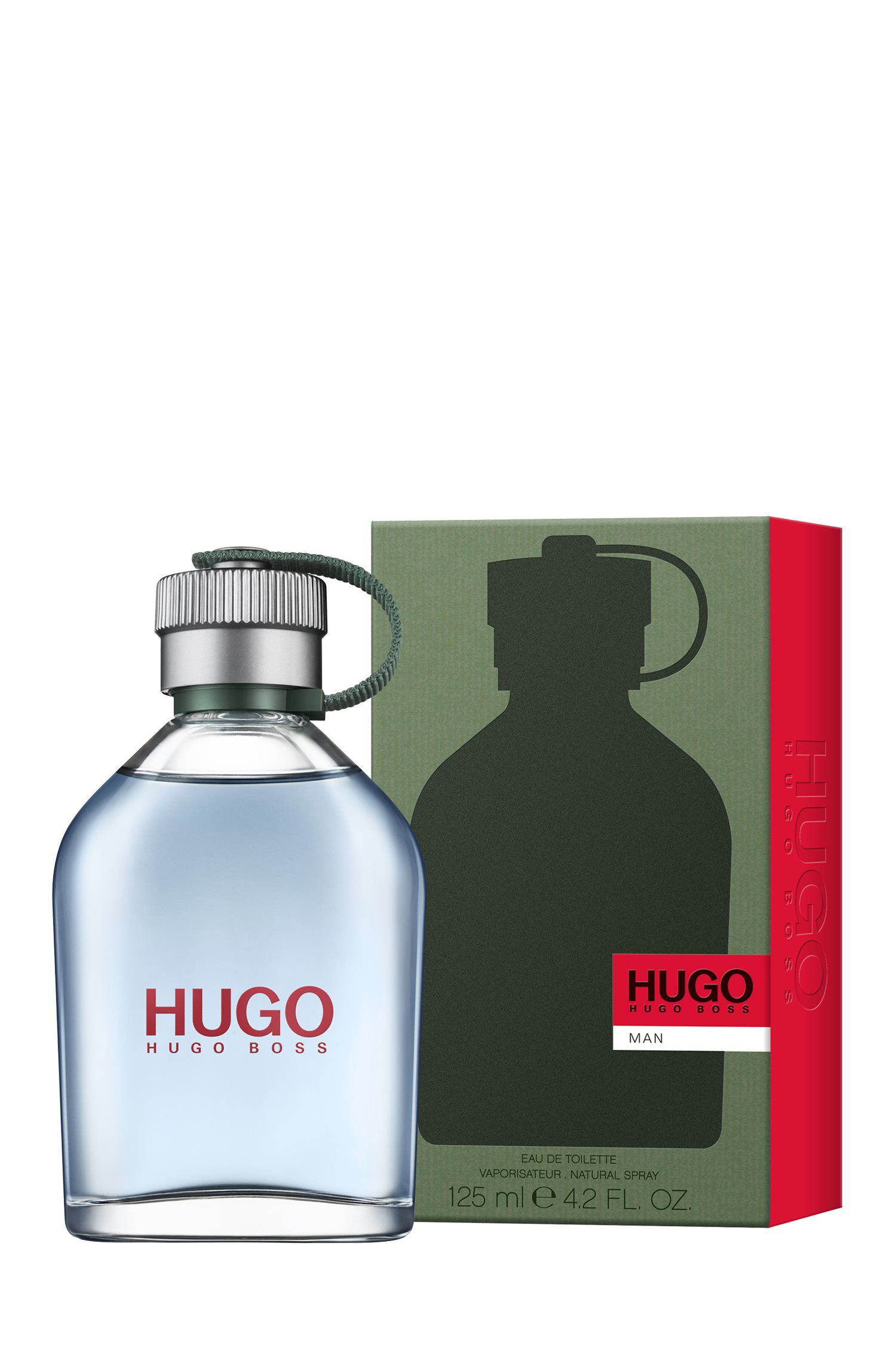 HUGO Man Eau de Toilette 125ml , Assorted-Pre-Pack