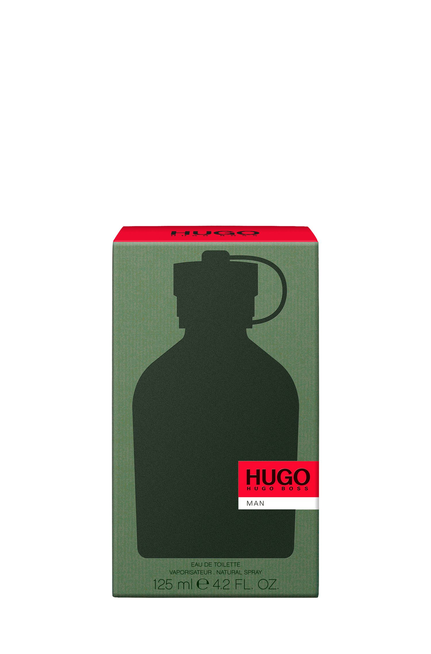 HUGO Man Eau de Toilette 125 ml , Assorted-Pre-Pack