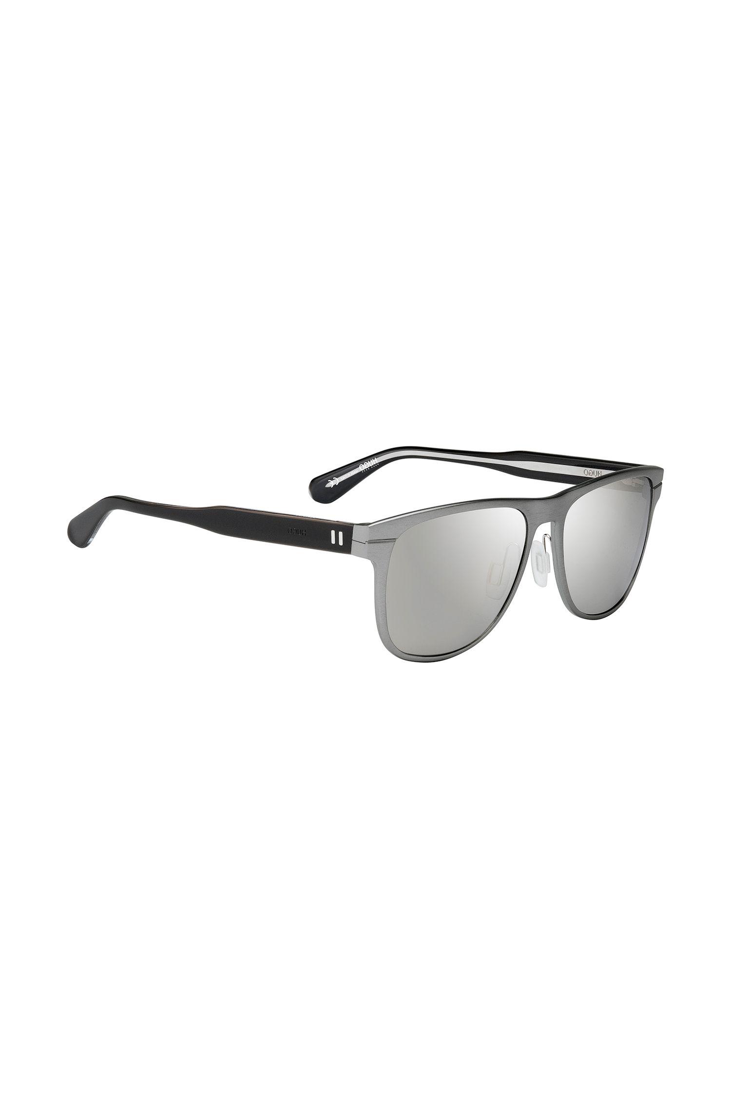 Zonnebril met verspiegelde glazen: '0120/S'