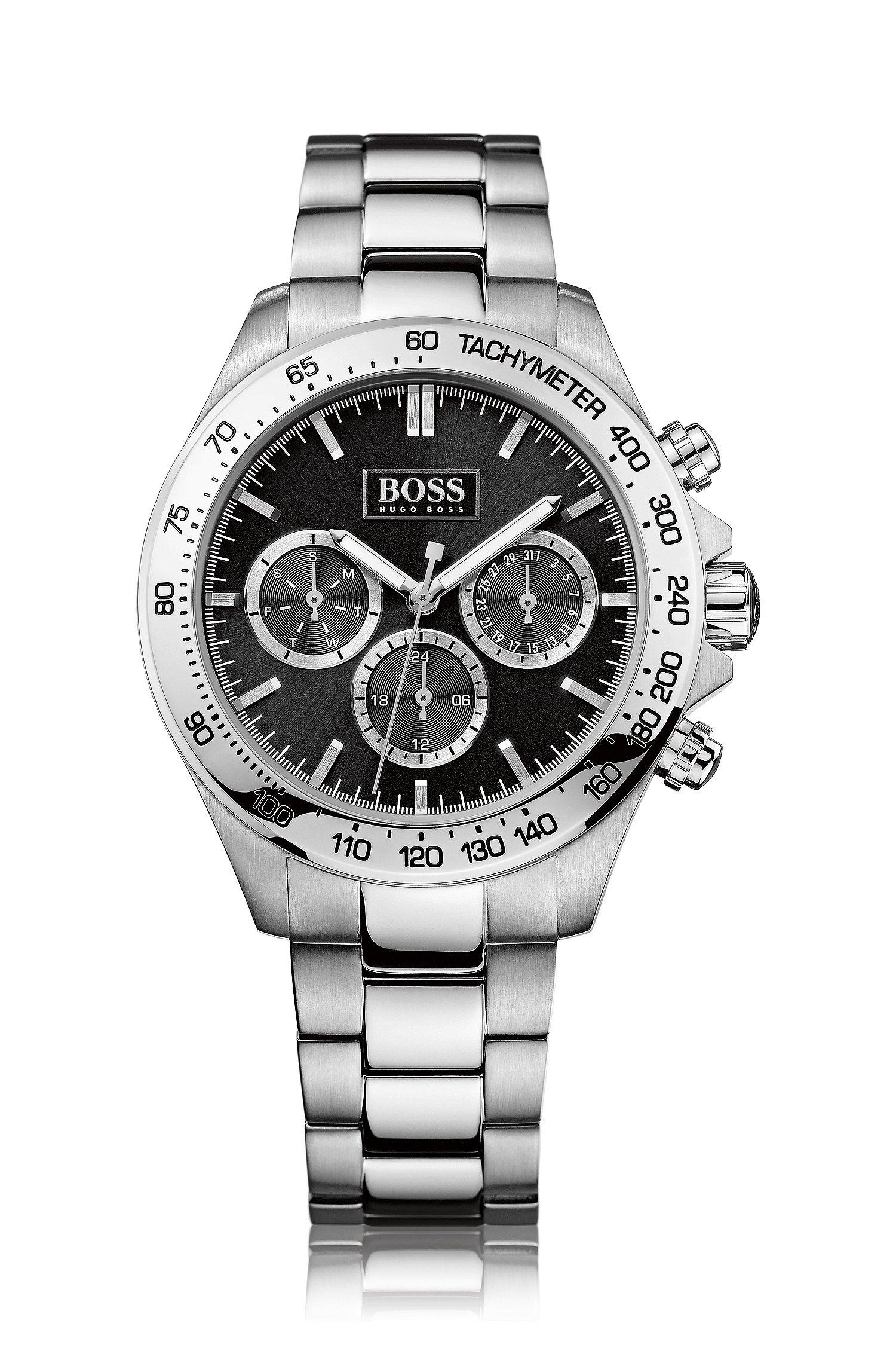 Montre chronographe «HB6030» en acier inoxydable
