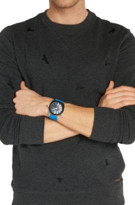 Armbanduhr mit Edelstahlgehäuse und zentraler Sekunde: 'HB2311', Assorted-Pre-Pack