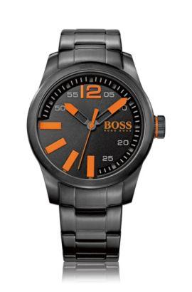 Montre-bracelet «HO7001» avec boîtier en acier inoxydable, Assorted-Pre-Pack