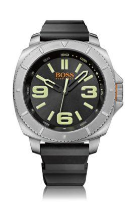 Montre-bracelet «HO7019» avec boîtier en acier inox, Noir