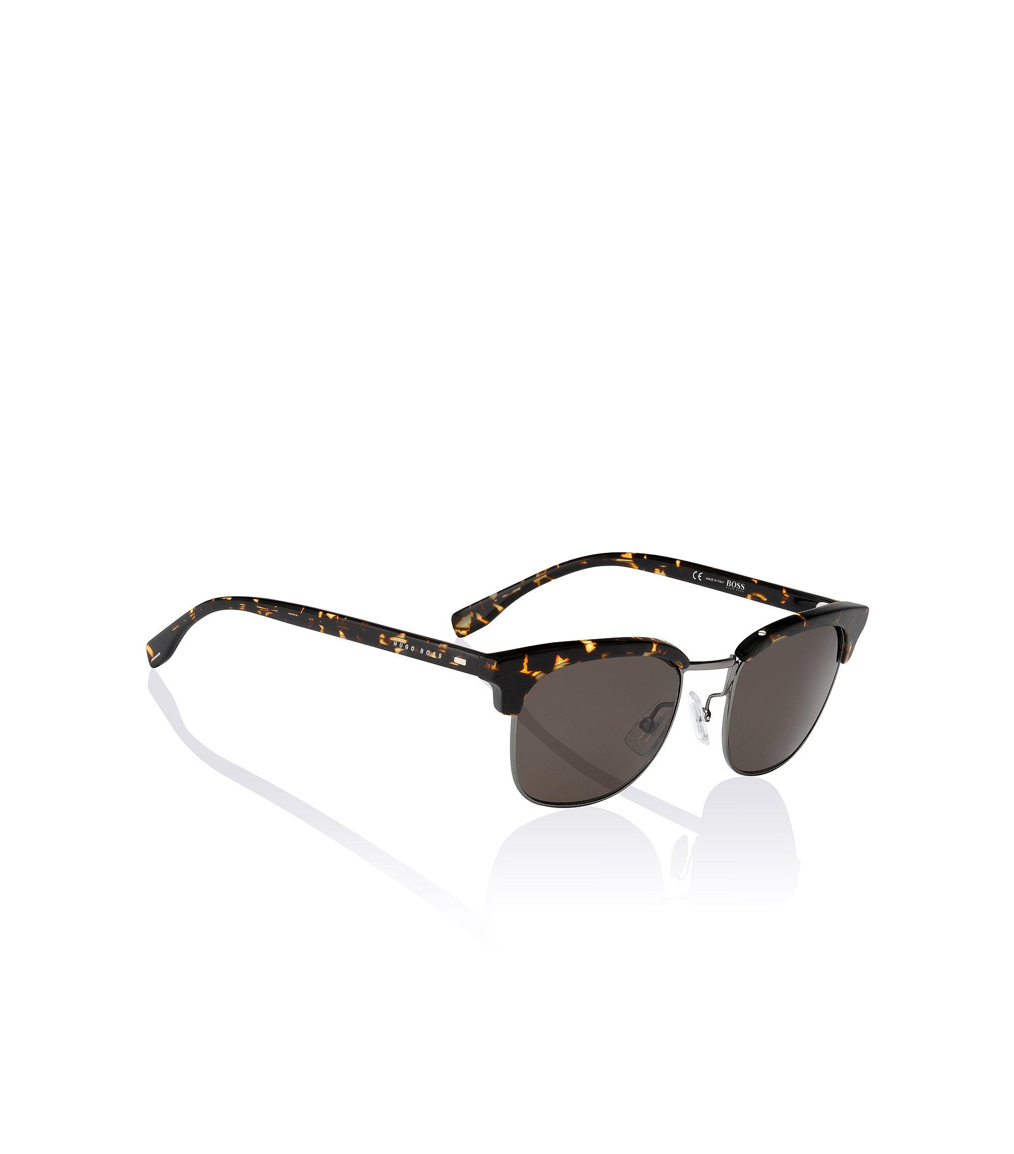 Clubmaster-zonnebril 'BOSS 0667' van kunststof en metaal, Assorted-Pre-Pack