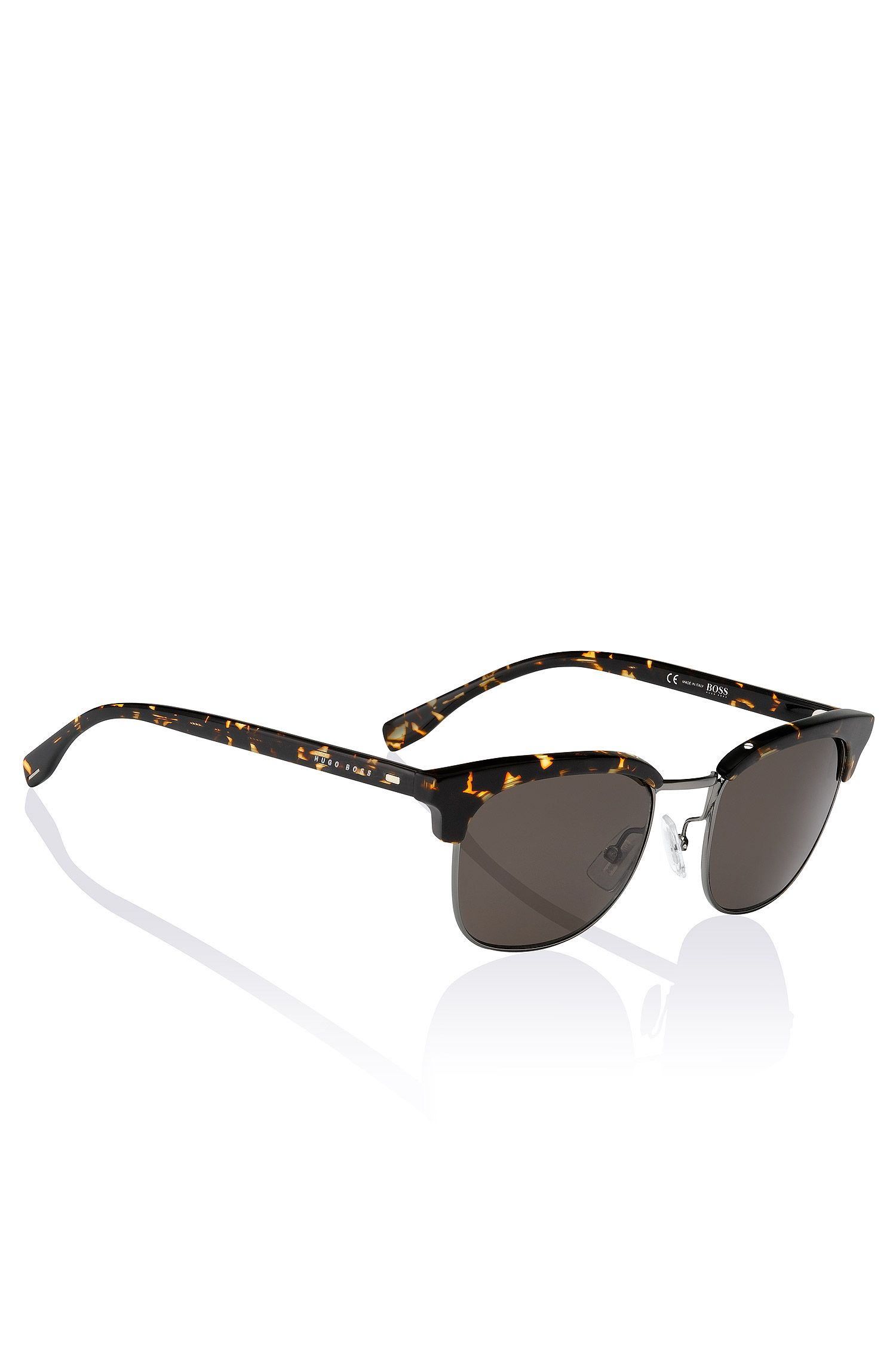 Clubmaster sunglasses 'BOSS 0667' in synthetic material and metal
