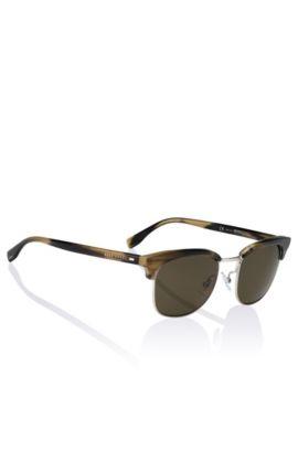 Clubmaster Sonnenbrille ´BOSS 0667` aus Kunststoff und Metall, Assorted-Pre-Pack