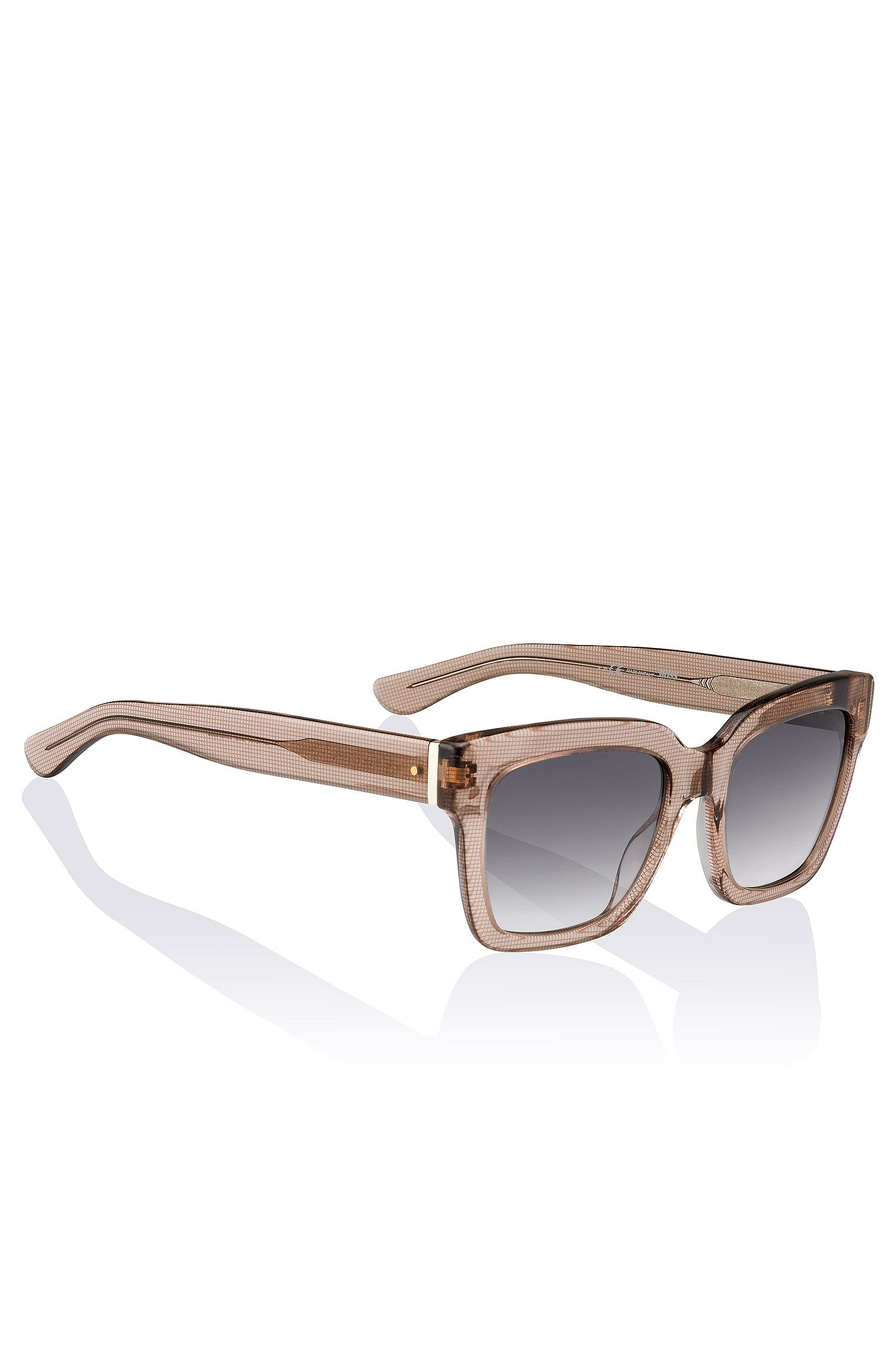 Wayfarer-zonnebril 'BOSS 0674' van acetaat en metaal