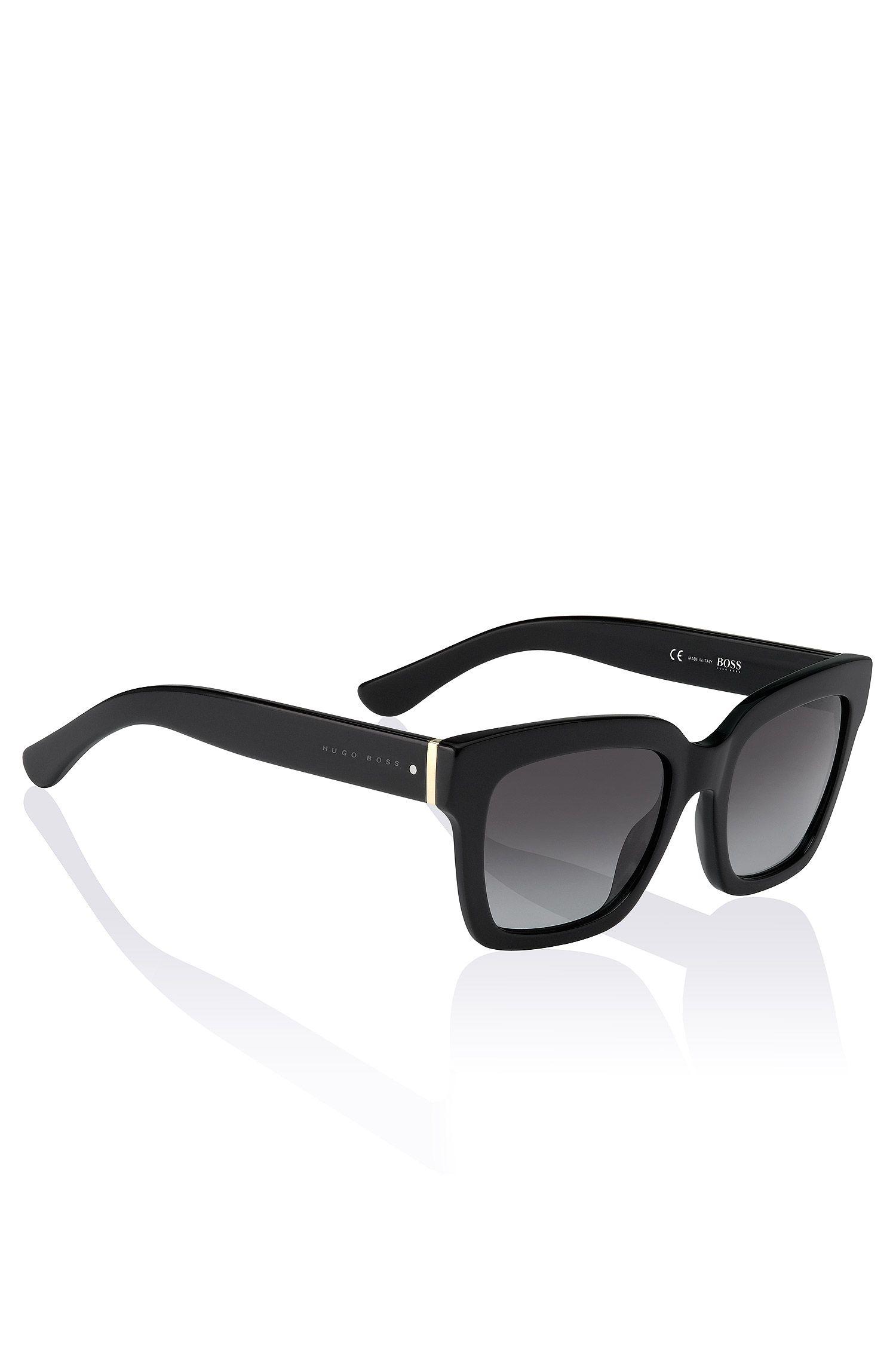 Wayfarer sunglasses 'BOSS 0674' in acetate and metal