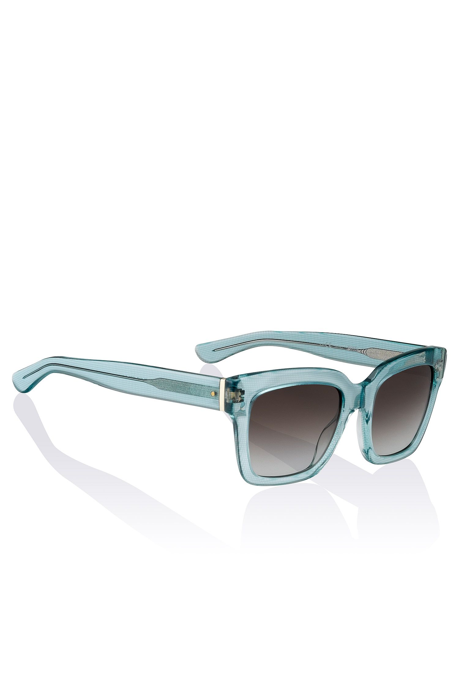 Occhiali da sole stile Wayfarer 'BOSS 0674' in acetato e metallo