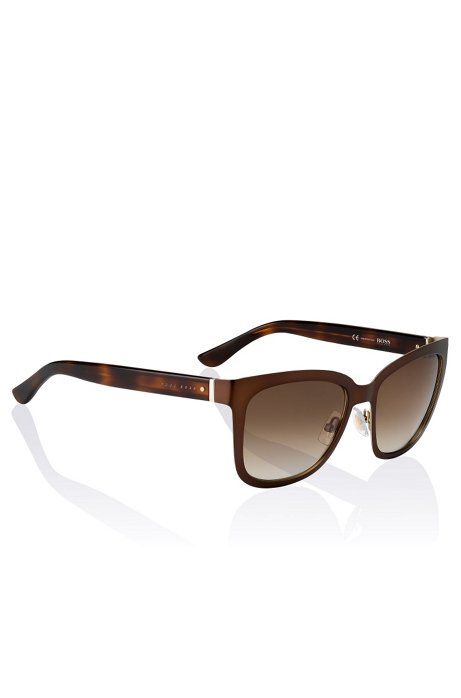 Sunglasses 'BOSS 0676' in acetate and metal, Assorted-Pre-Pack
