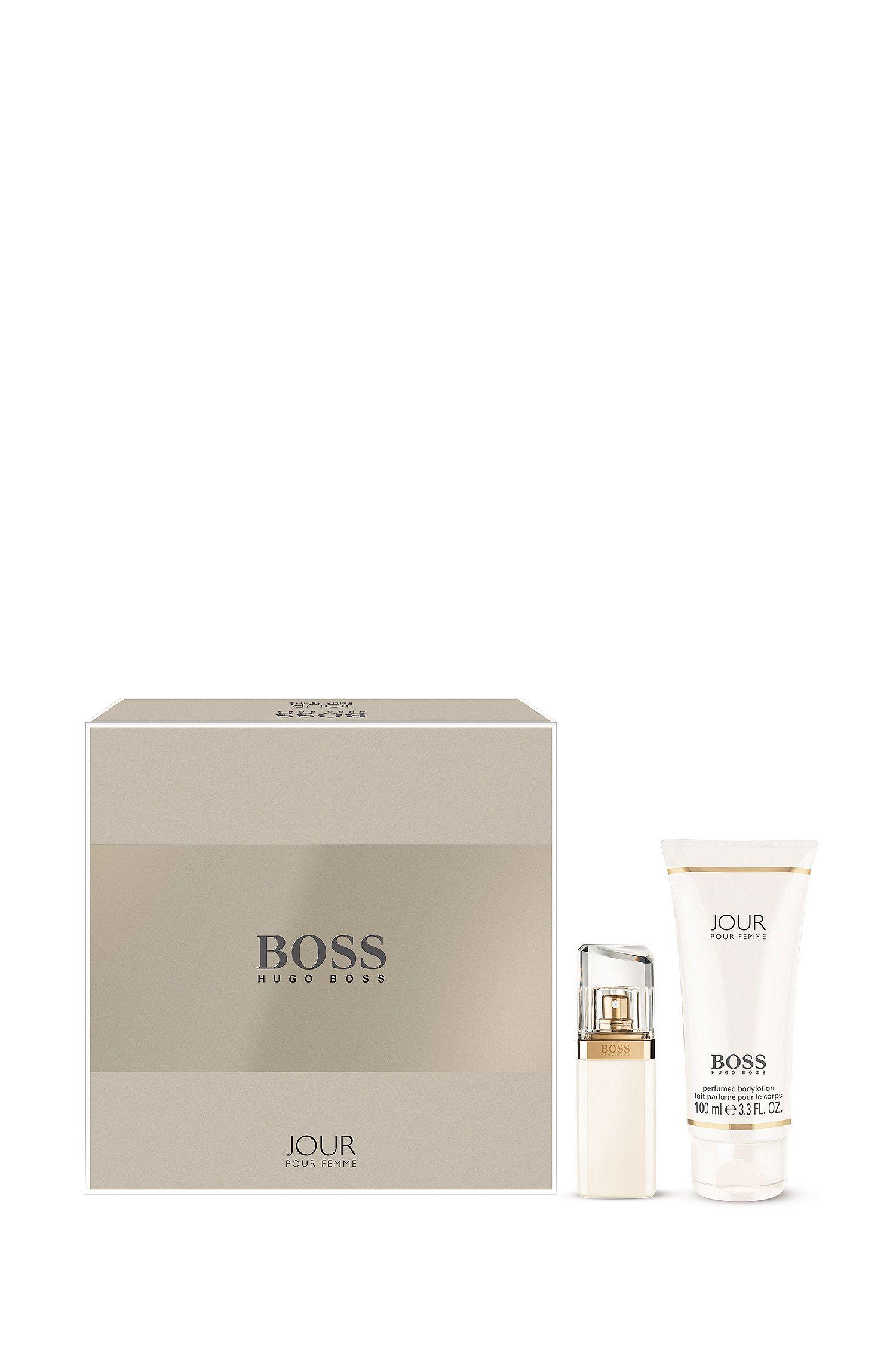 Coffret cadeau «BOSS Jour» comprenant une Eau de Parfum (30ml) et une Lotion pour le Corps