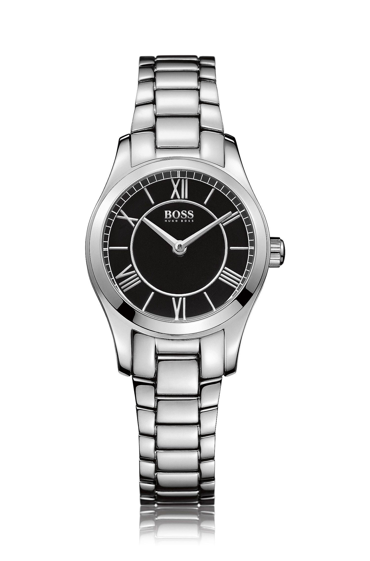 Armbanduhr ´HBAMBRL` aus glänzendem Edelstahl