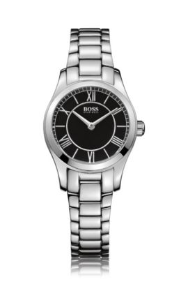 Watch 'HBAMBRL' in gleaming stainless steel, Assorted-Pre-Pack