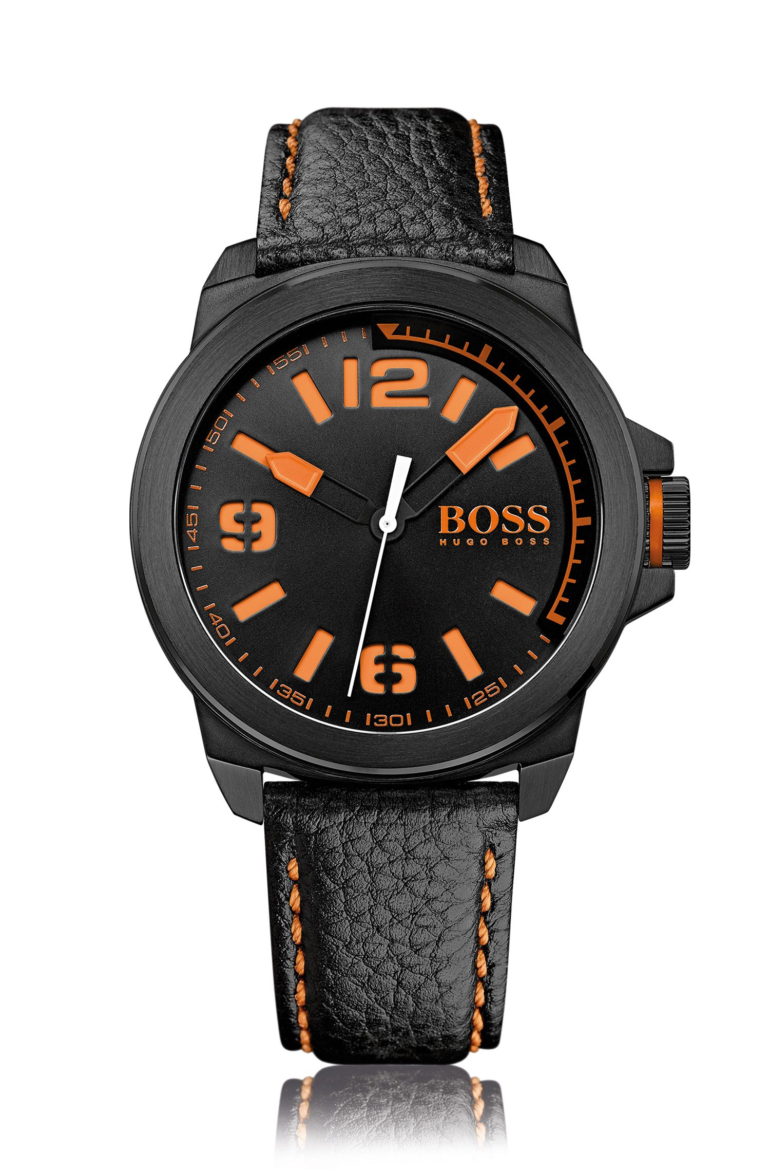 Watch with stainless-steel case: 'HB2381'