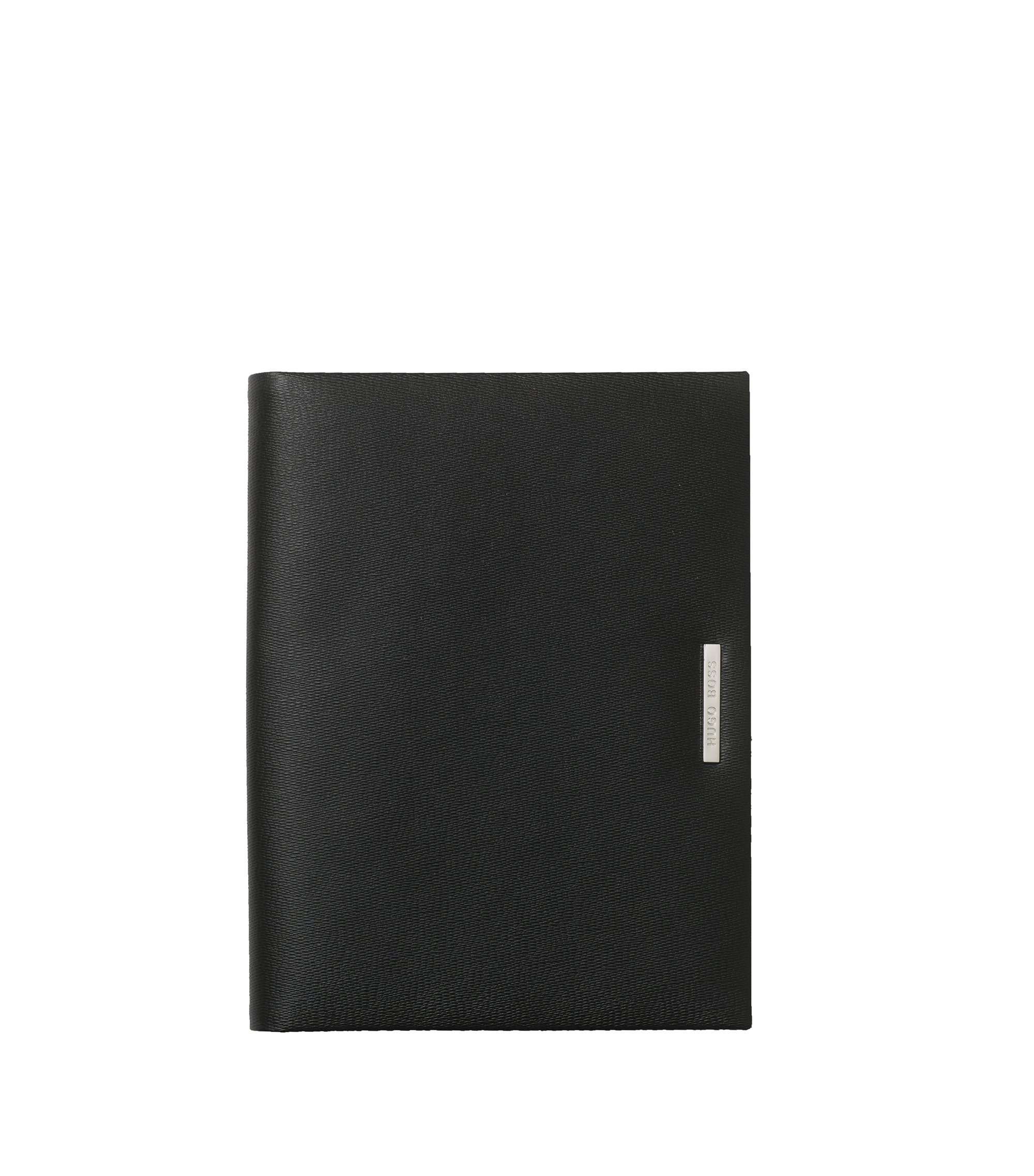 DIN A5 leather folder: 'Advance', Black