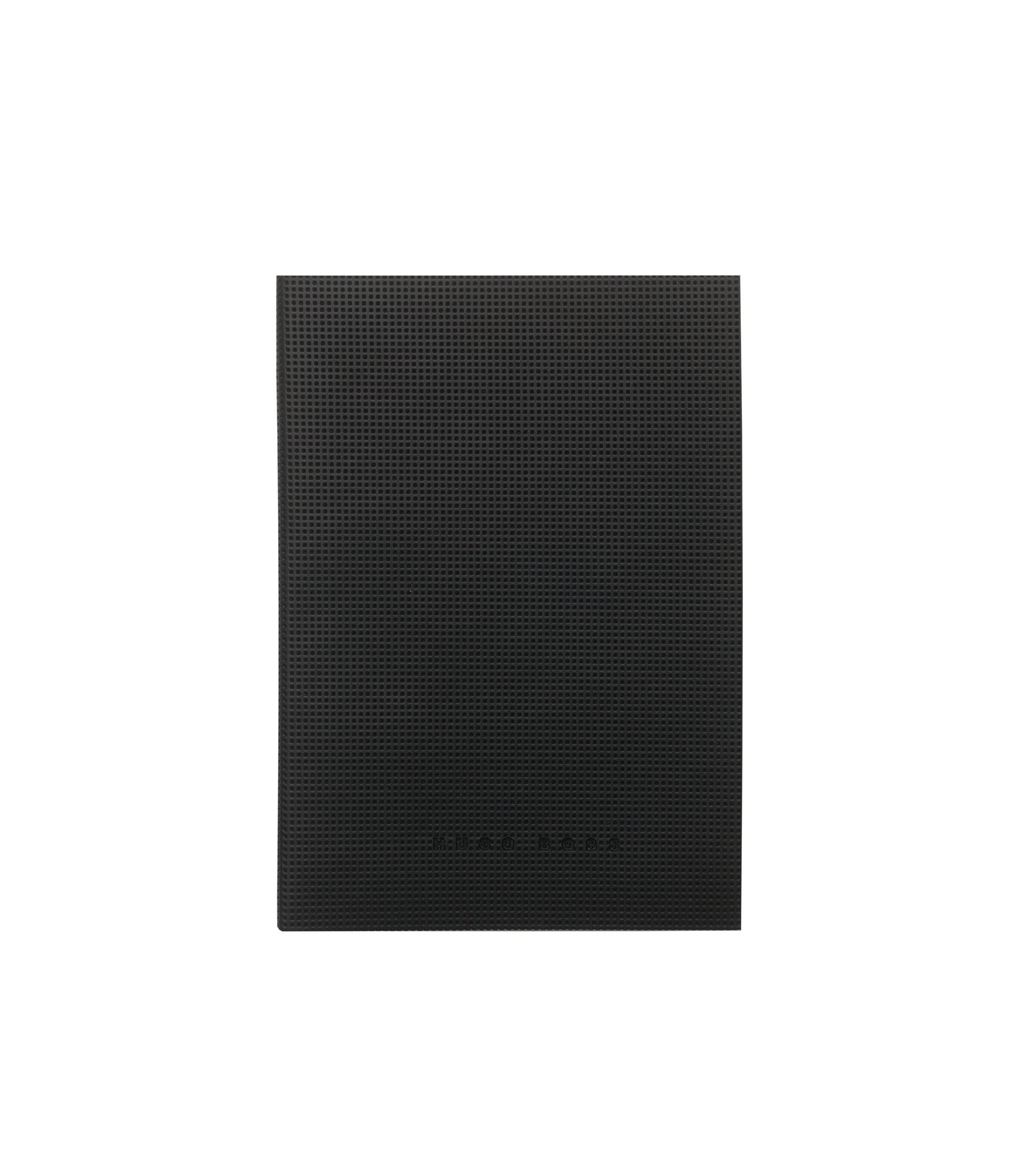 A5-notitieboek: 'Grid Soft', Zwart