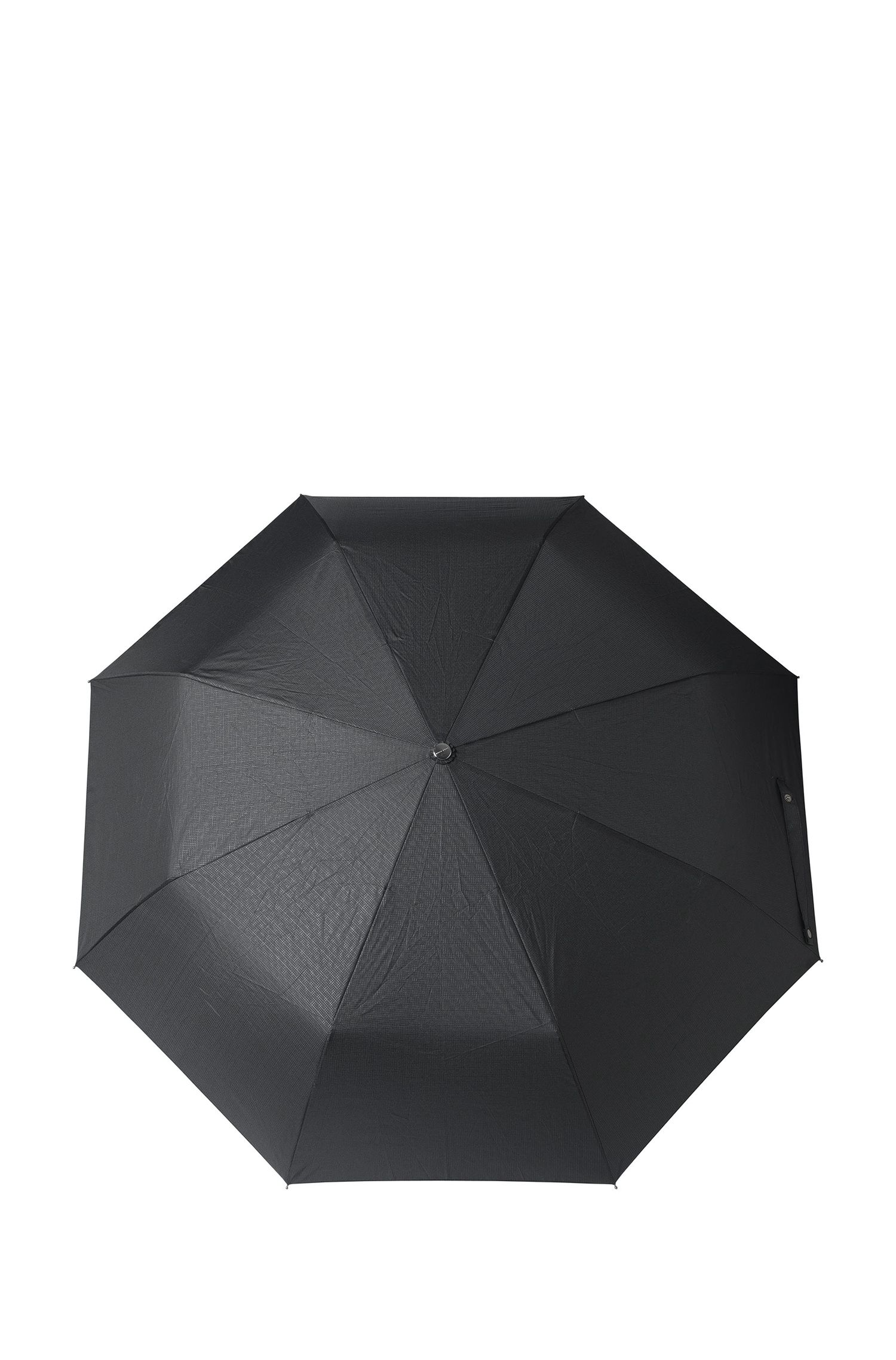 Parapluie pliable à déclenchement automatique : « Grid Pocket »