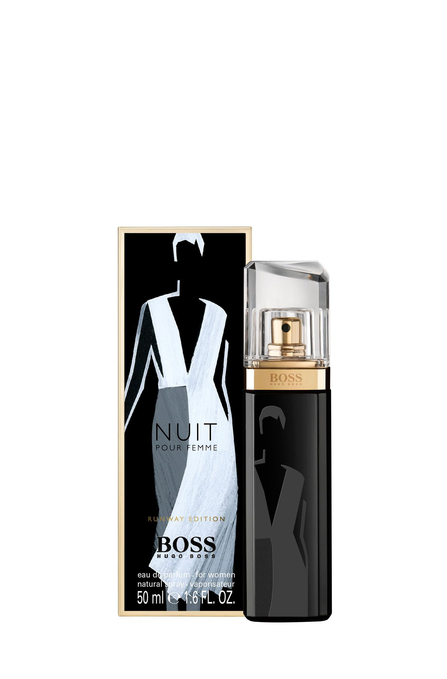 Eau de Parfum 'BOSS Nuit Runway Edition' 50 ml, Assorted-Pre-Pack