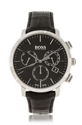 classic men s watches and chronographs from hugo boss three hand