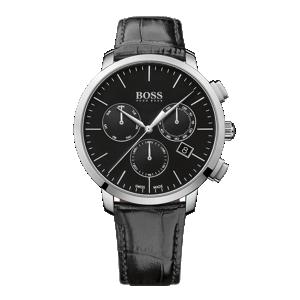 Chronograph aus Edelstahl mit Quarzwerk: 'Signature Timepiece'