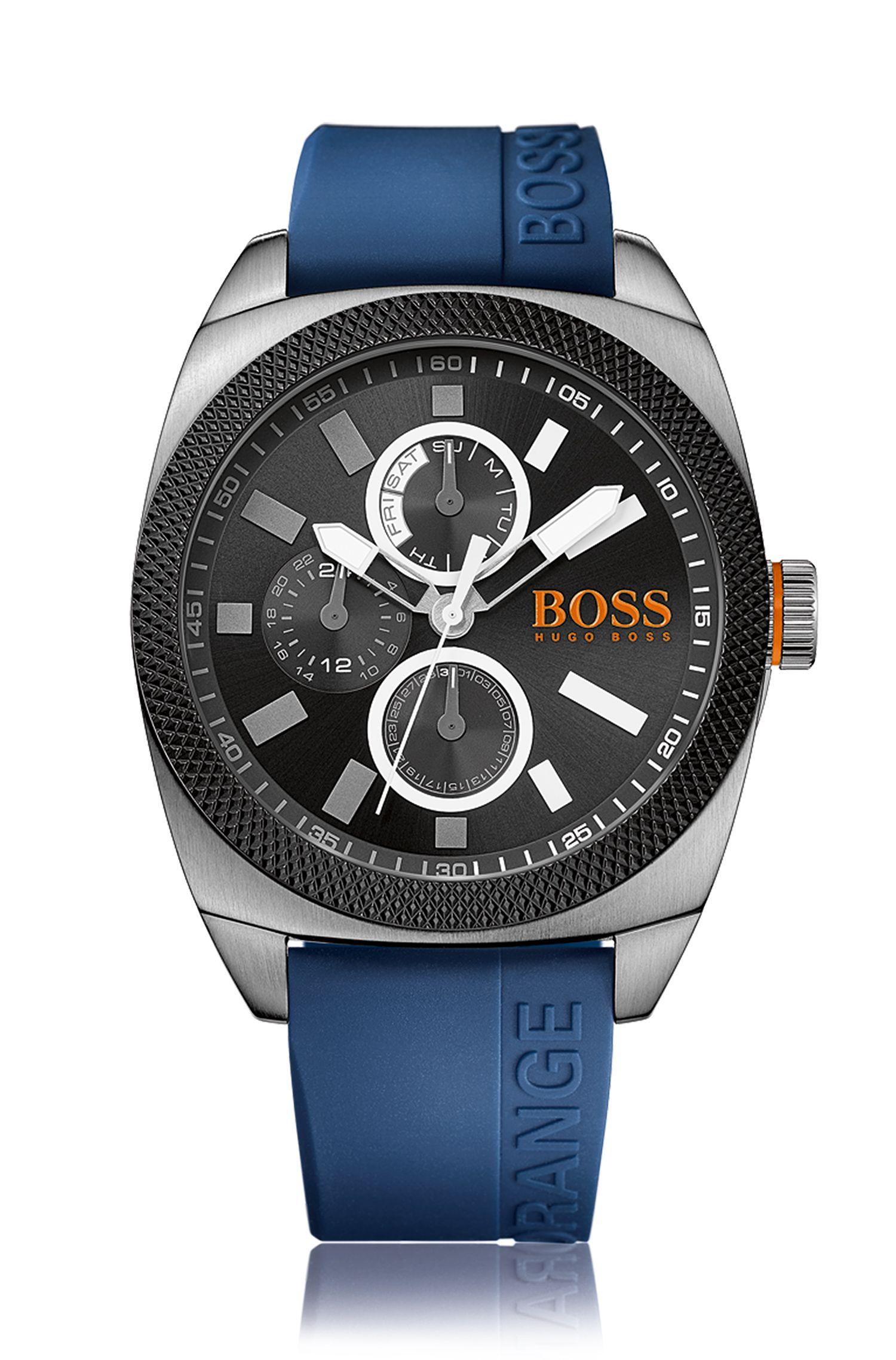 Extra groot multi-eye-horloge met kast van roestvrij staal: 'HOLONDN'