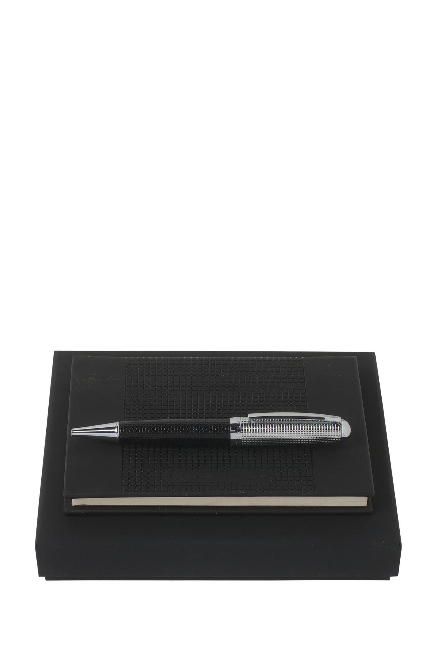Schreib-Set mit Struktur-Details: 'Grid'