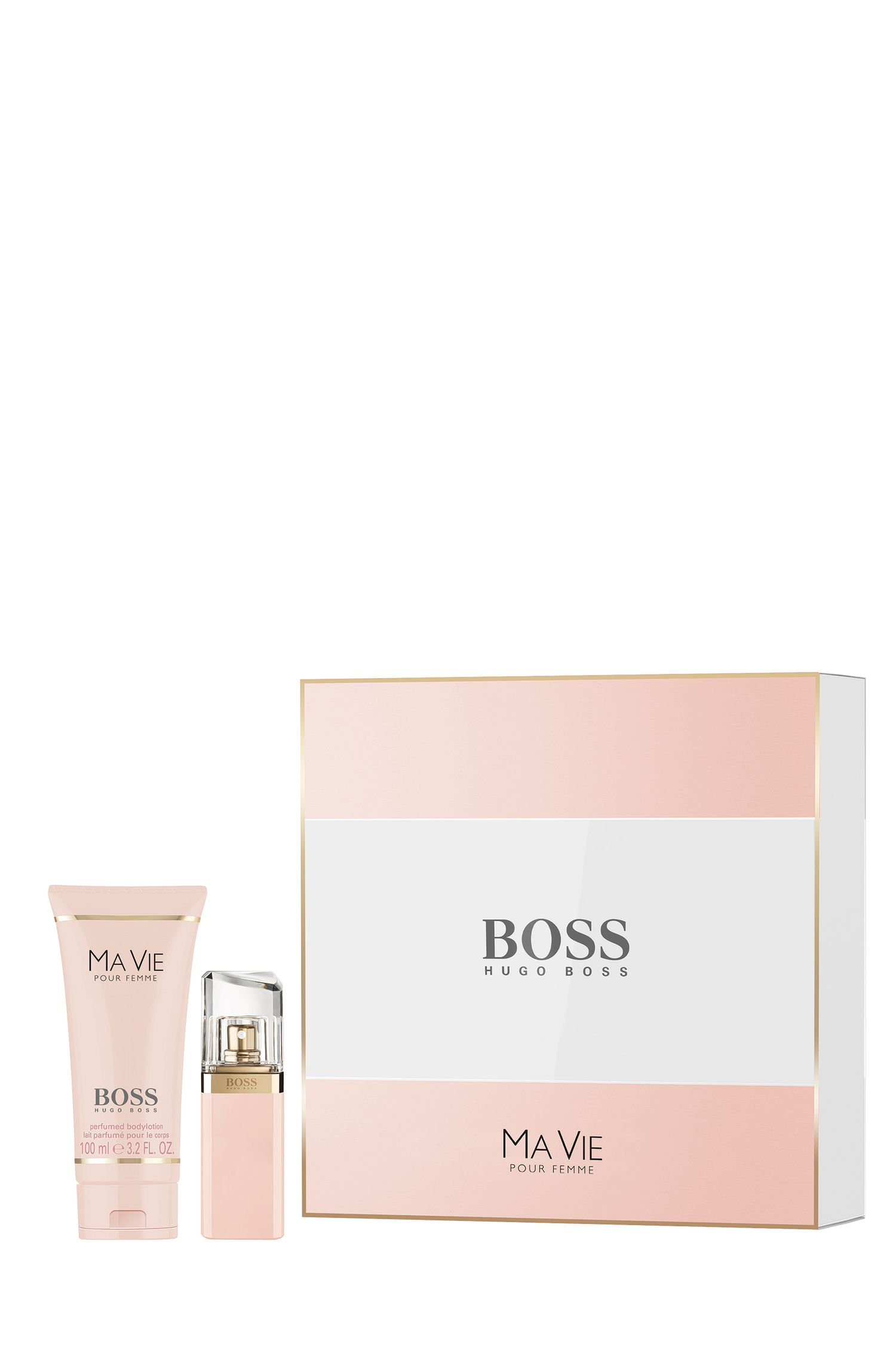 Gift set 'BOSS Ma Vie' with Eau de Parfum 30 ml and Body Lotion