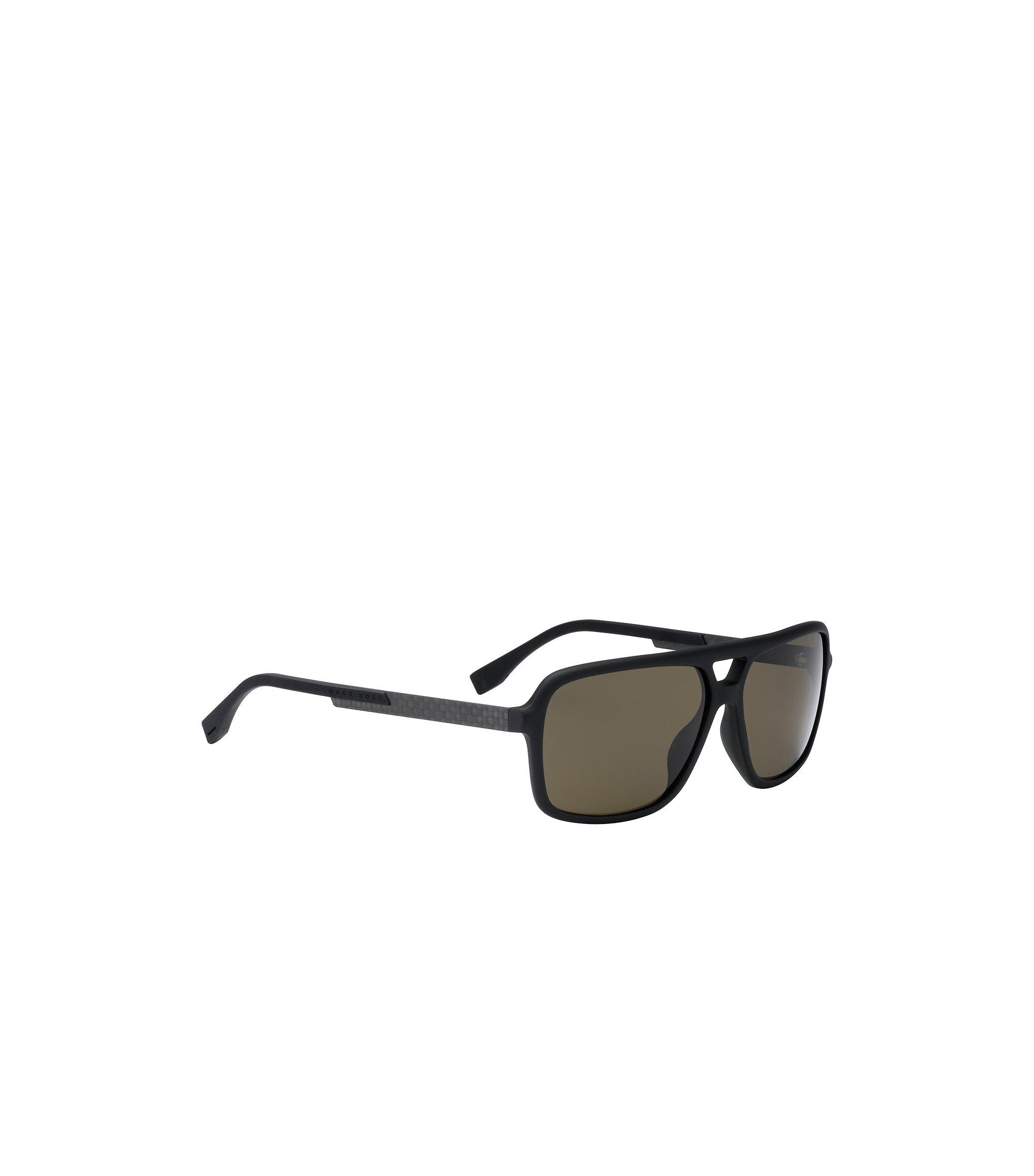 Schwarze Piloten-Sonnenbrille aus verstärktem Gummi: 'BOSS 0772/S', Assorted-Pre-Pack