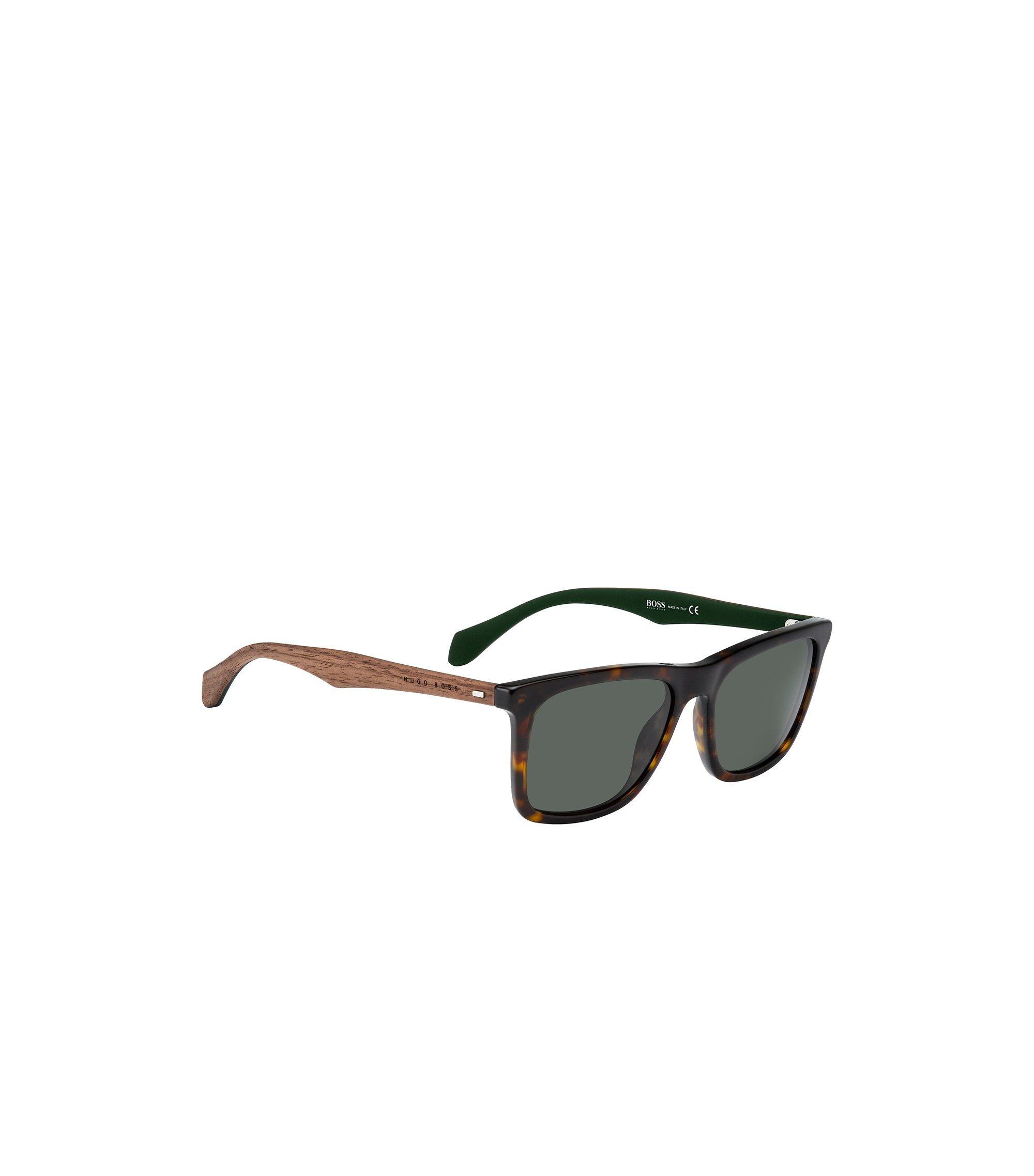 Sonnenbrille mit Holzbügeln und Havanna-Muster: 'BOSS 0776/S', Assorted-Pre-Pack