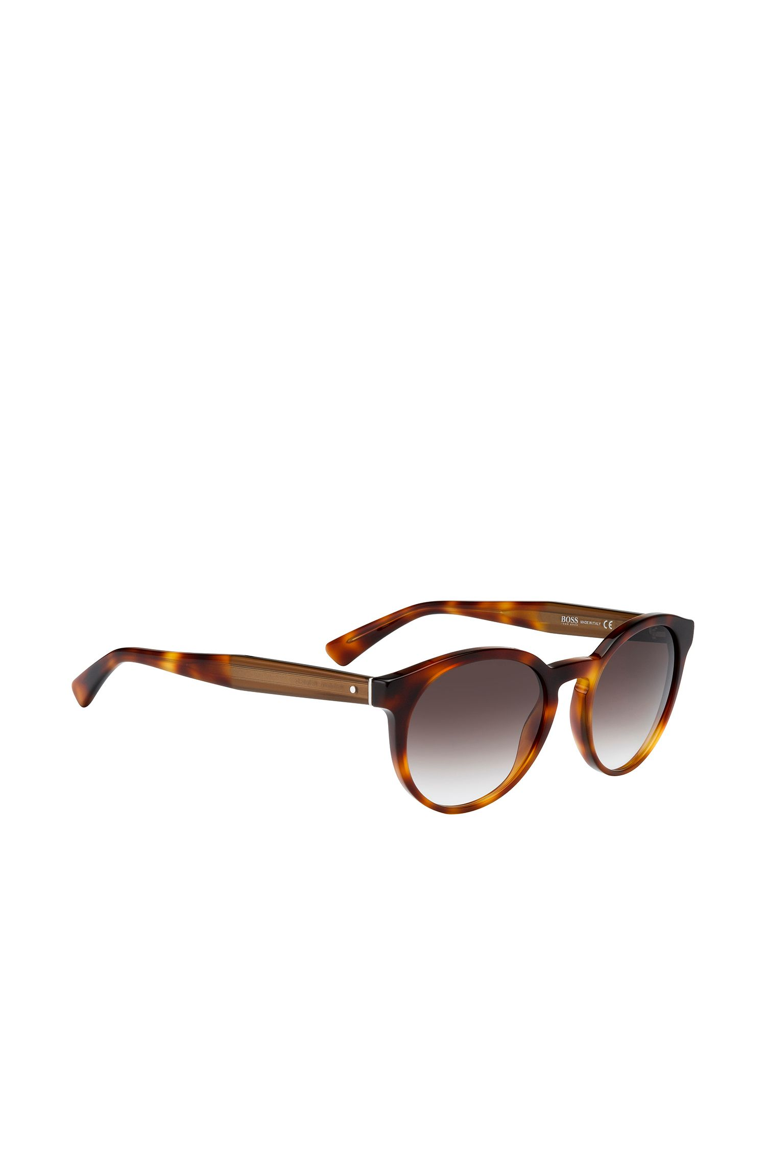Brown sunglasses in panto style: 'BOSS 0794/S'