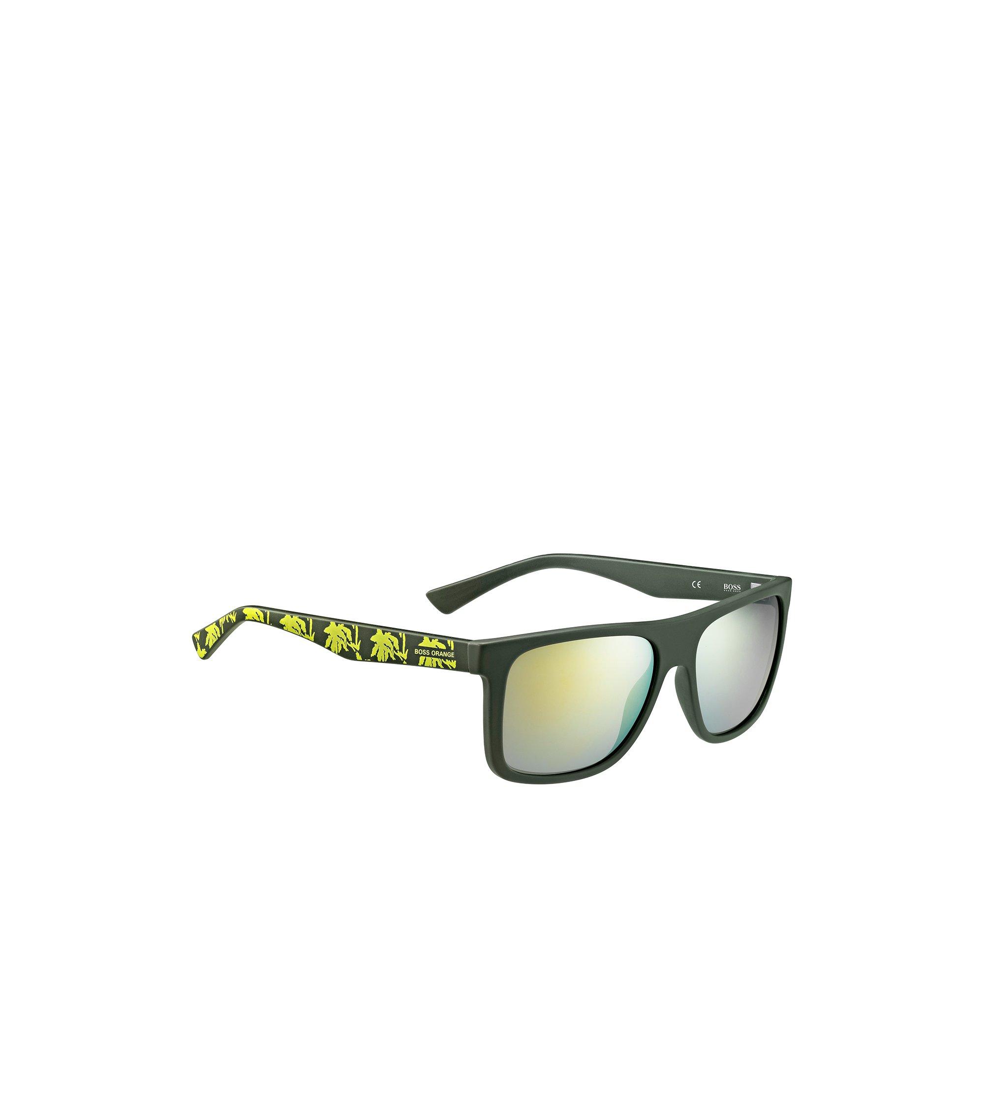 Groene zonnebril met poten met dessin: 'BO 0235/S', Assorted-Pre-Pack