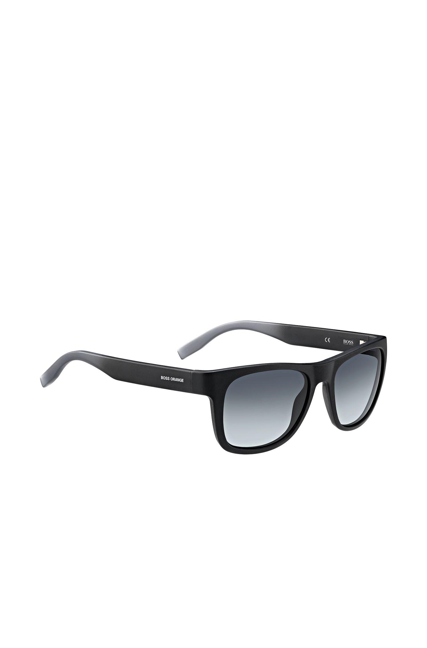 Schwarze Sonnenbrille mit Fünf-Nieten-Scharnier: 'BO 0249/S'