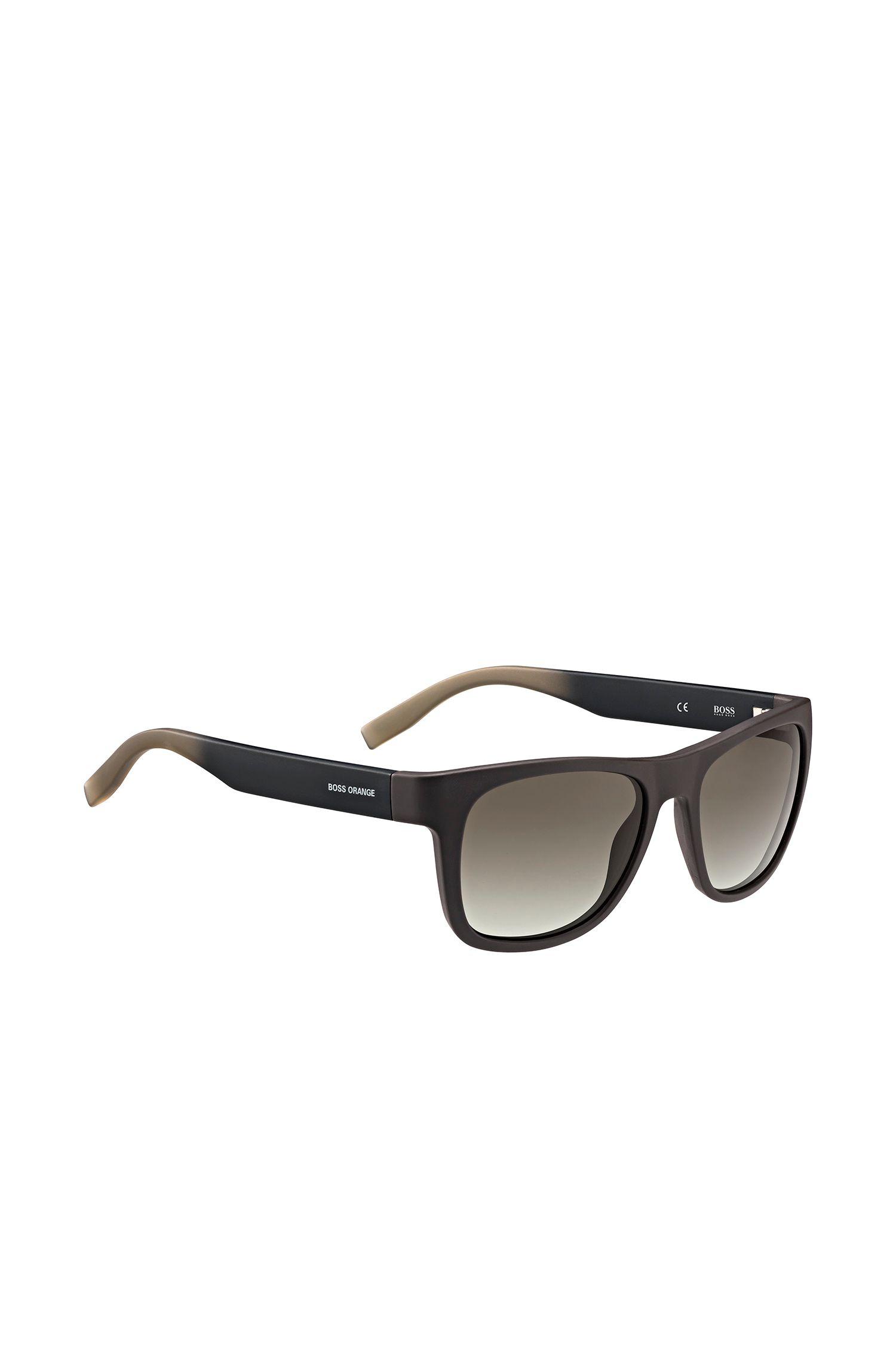 Bruine zonnebril met vijfpuntsscharnier: 'BO 0249/S'